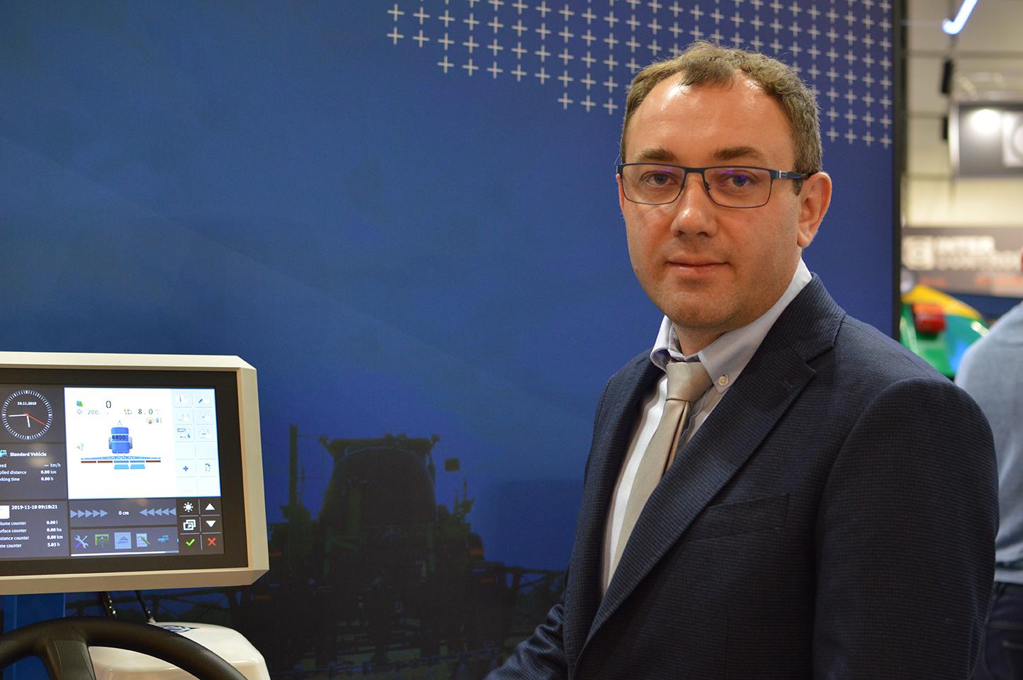 В'ячеслав Третяк, регіональний менеджер Trimble